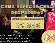 Cenas Despedidas Burgos: Espectáculo Drag Queen